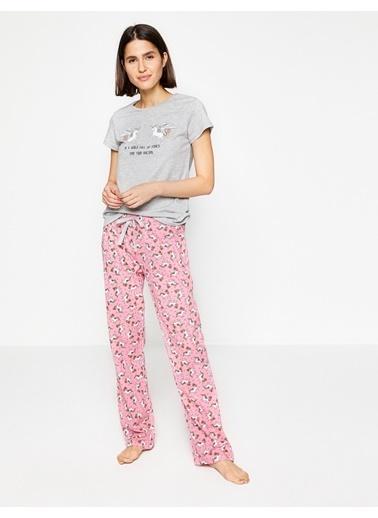 Koton Pijama Üstü Pembe